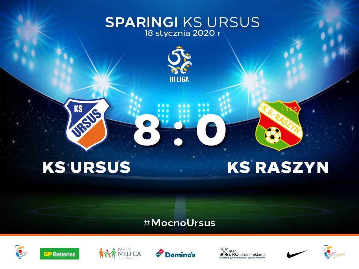 sparing KS Ursus vs KS Raszyn