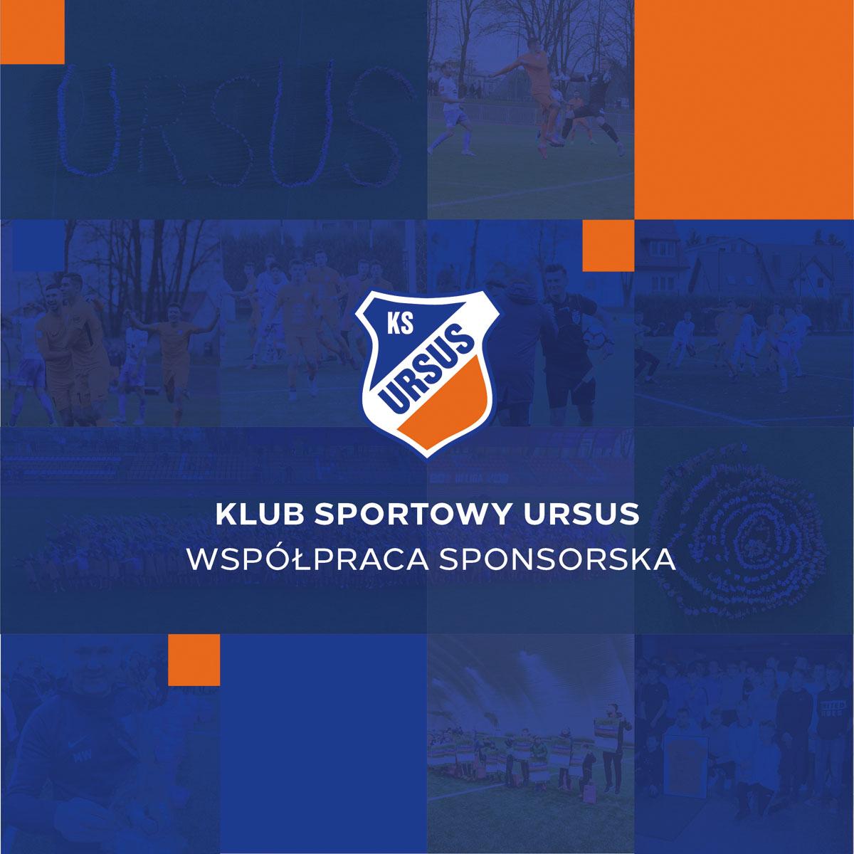 Folder sponsorski Klubu Sportowego Ursus Warszawa na 2020 r.