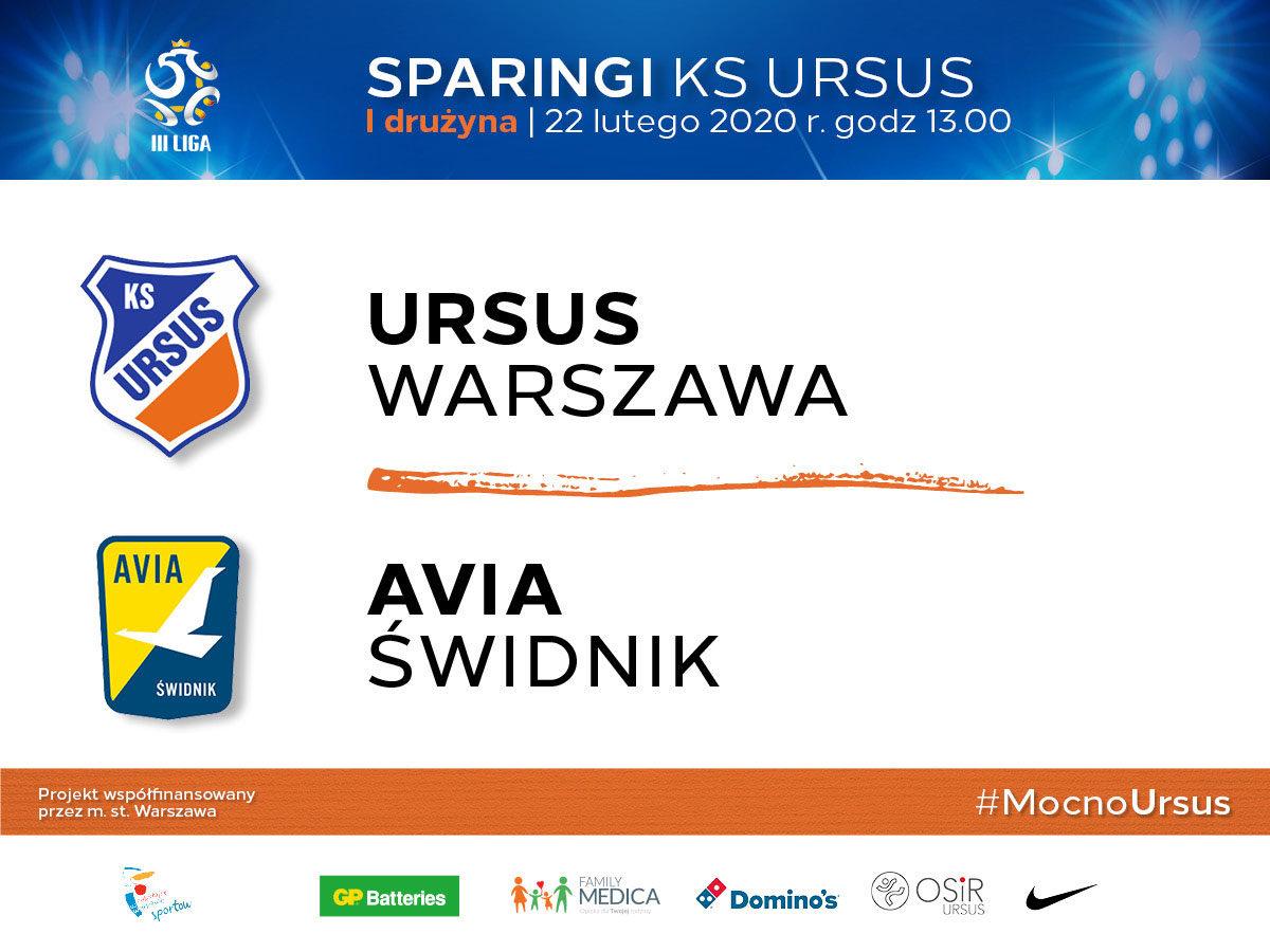 Sparing Ursus vs Avia