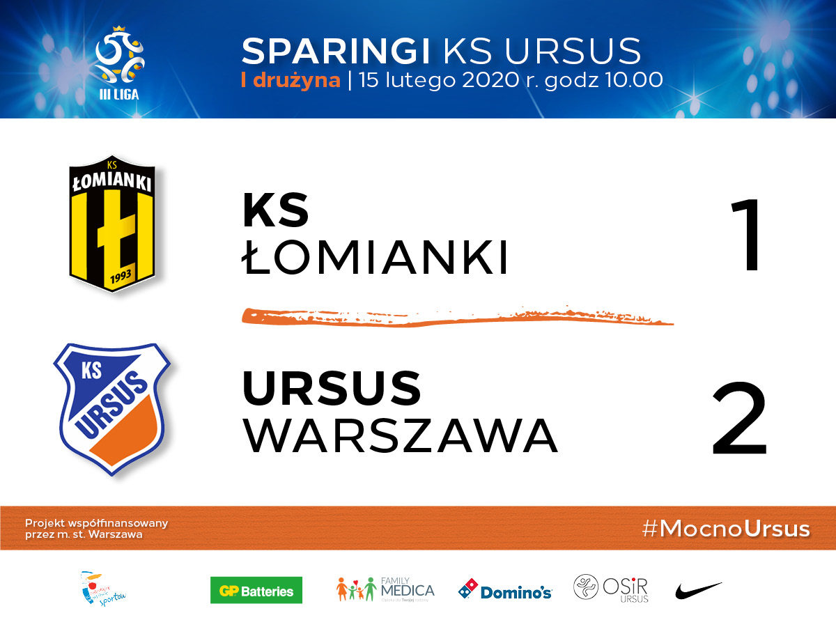 ks lomianki vs Ursus Warszawa
