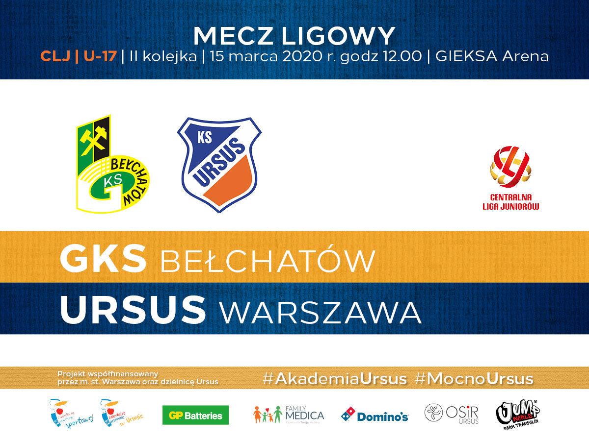 GKS Bełchatów vs Ursus Warszawa