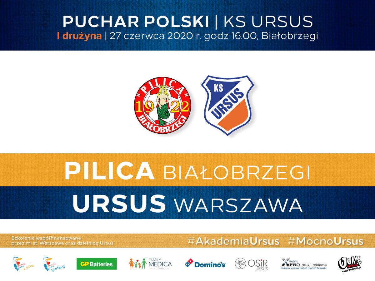 Mecz pucharu polski Pilica vs Ursus