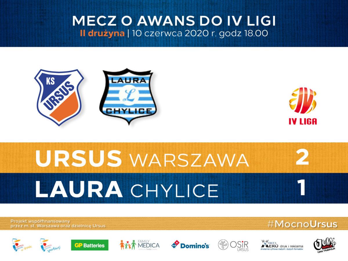 Mecz piłki nożnej o awans do VI ligi KS Ursus vs Laura Chylice