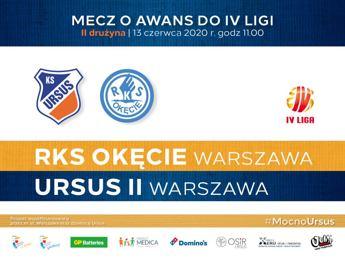 Ursus II Warszawa vs RKS Okęcie