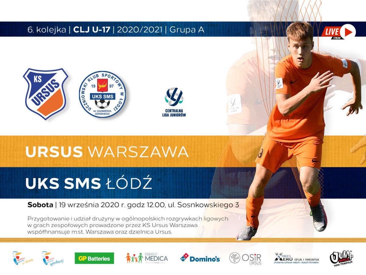 KS Ursus vs UKS SMS Lodz - live