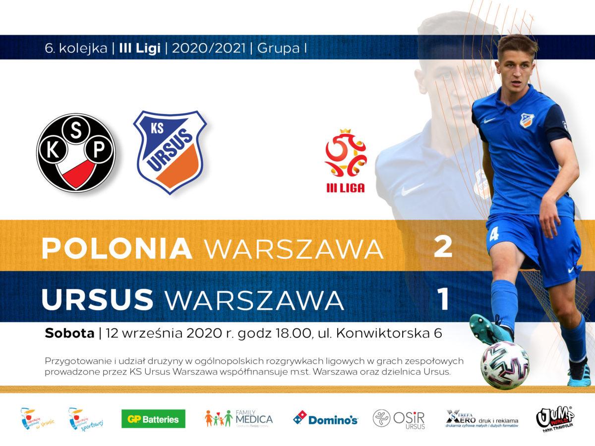Polonia vs Ursus Warszawa wynik