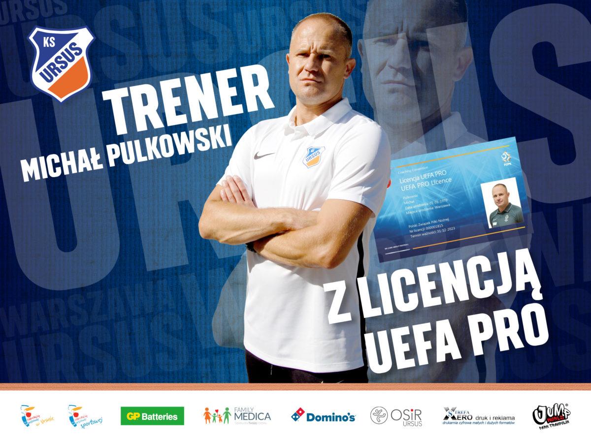 Pulkowski z Licencją Uefa PRO