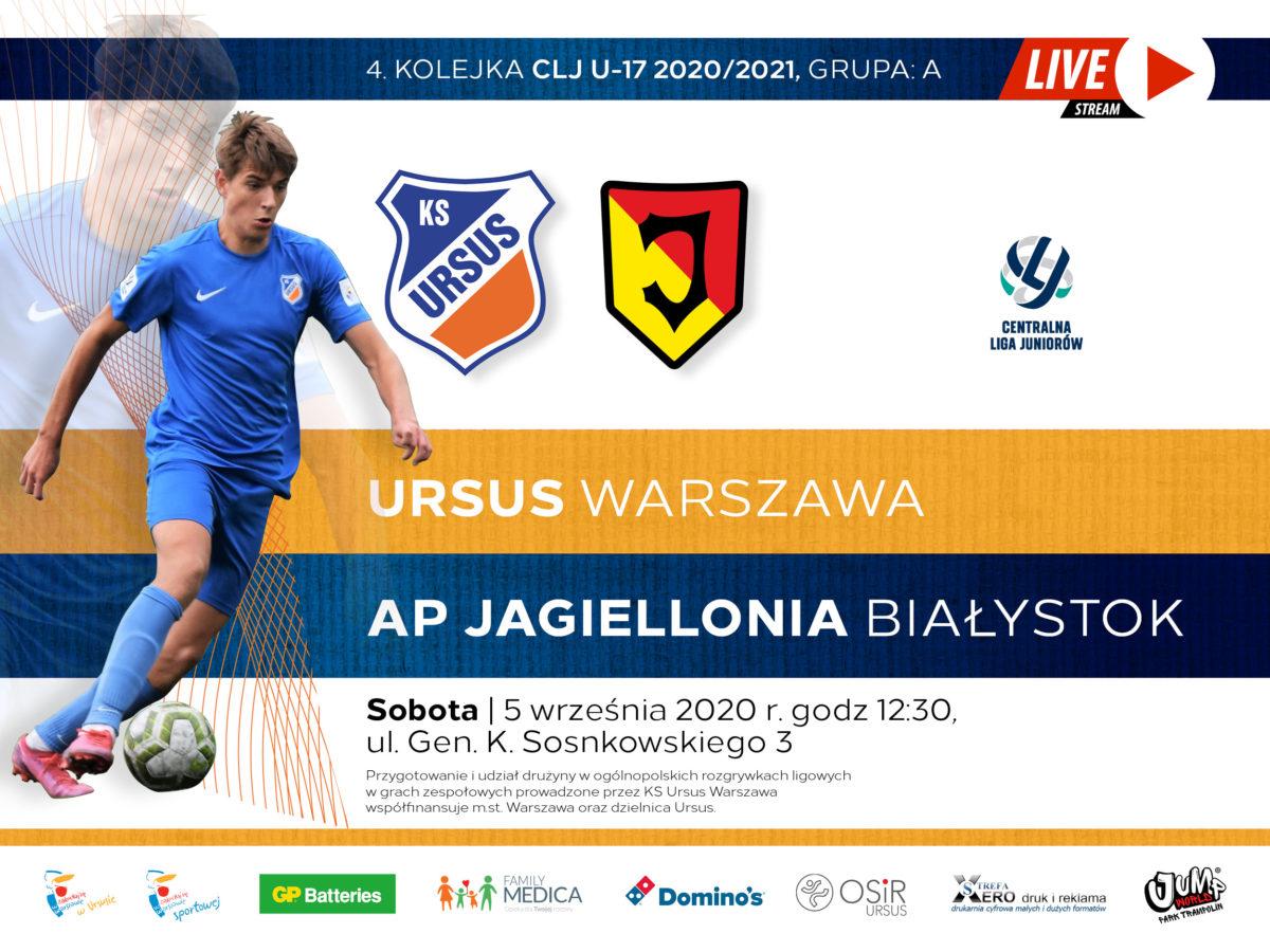 Ursus vs Jagiellonia live
