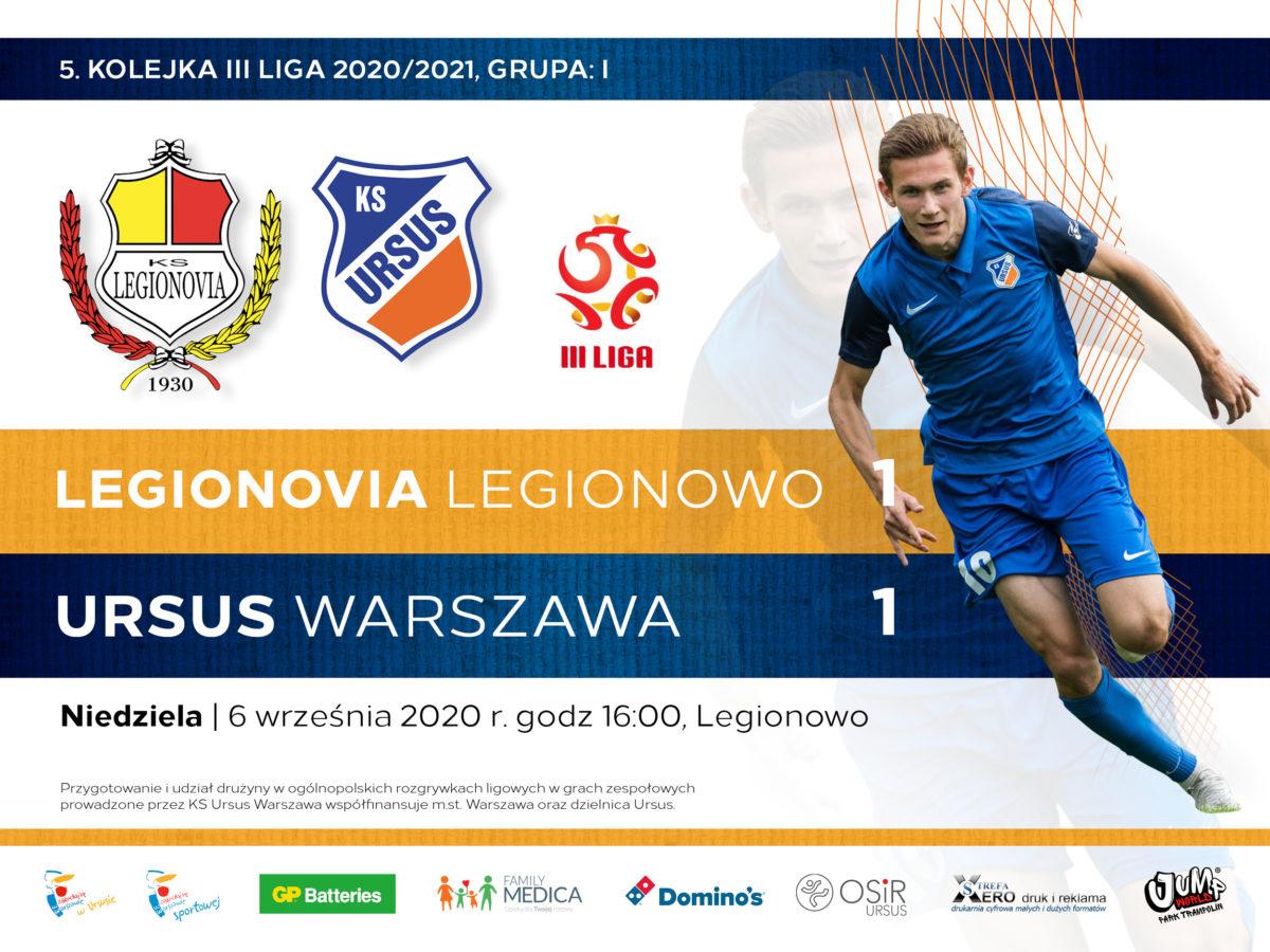 Legionovia vs Ursus Warszawa