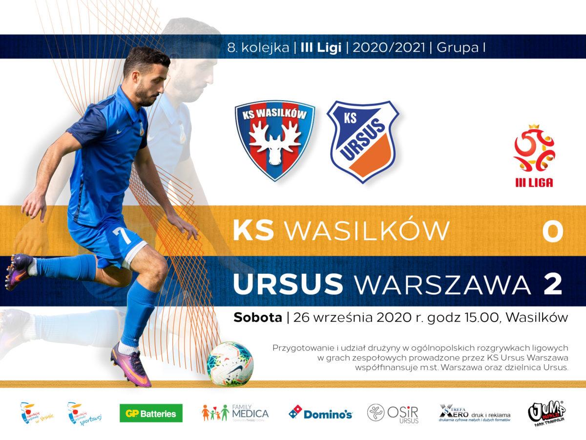 KS Wasilków vs Ursus Warszawa wynik