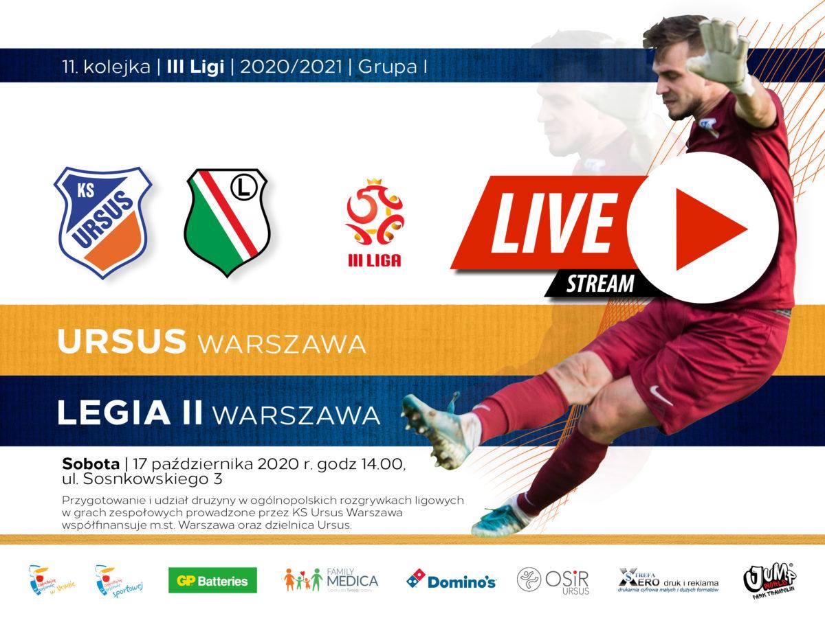 Ursus Warszawa vs Legia II Warszawa