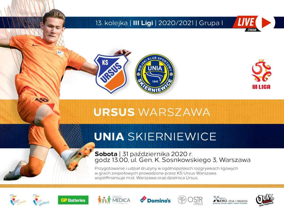 Ursus vs Unia Skierniewice live