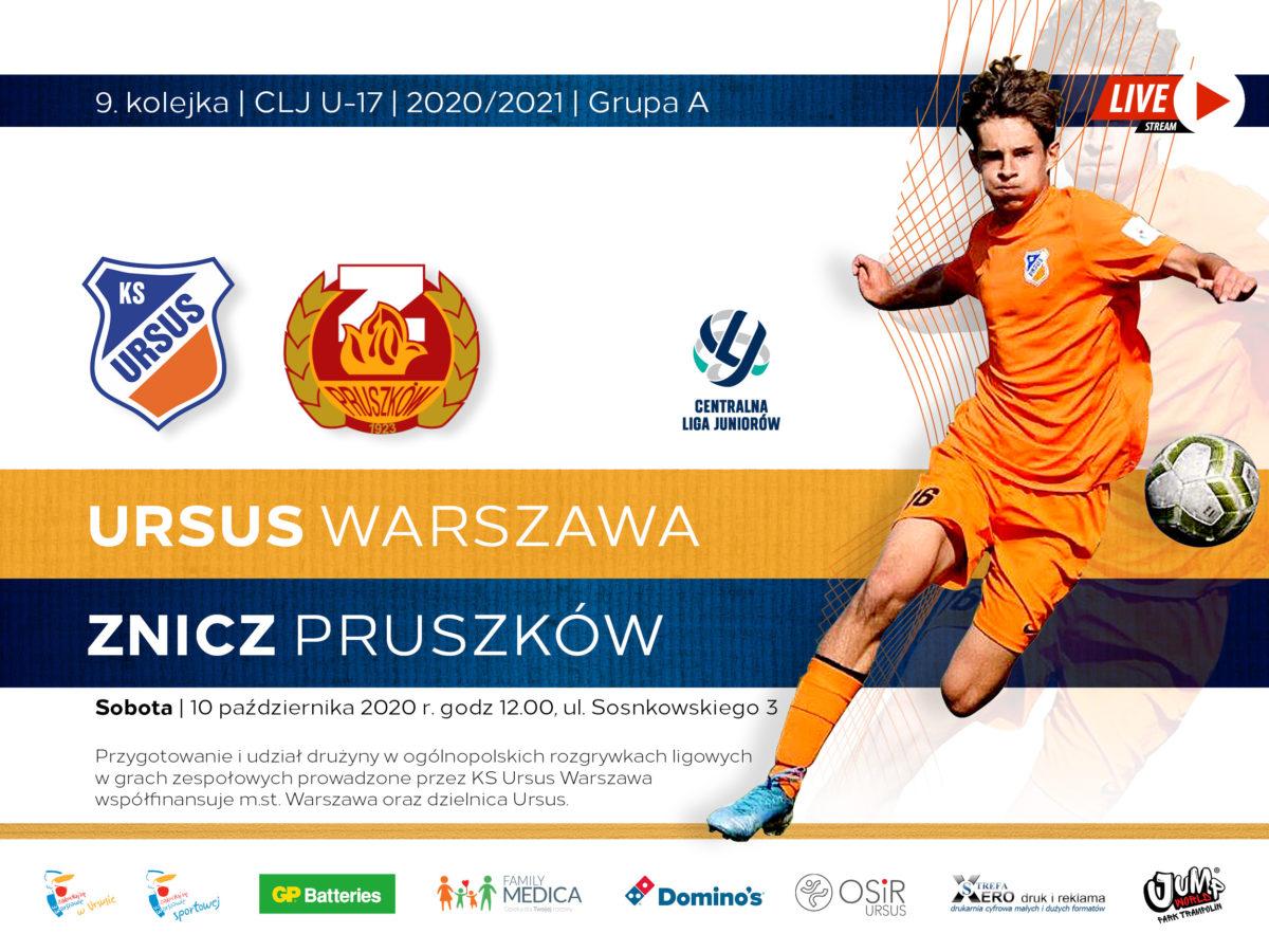 Ursus vs Znicz Pruszków live