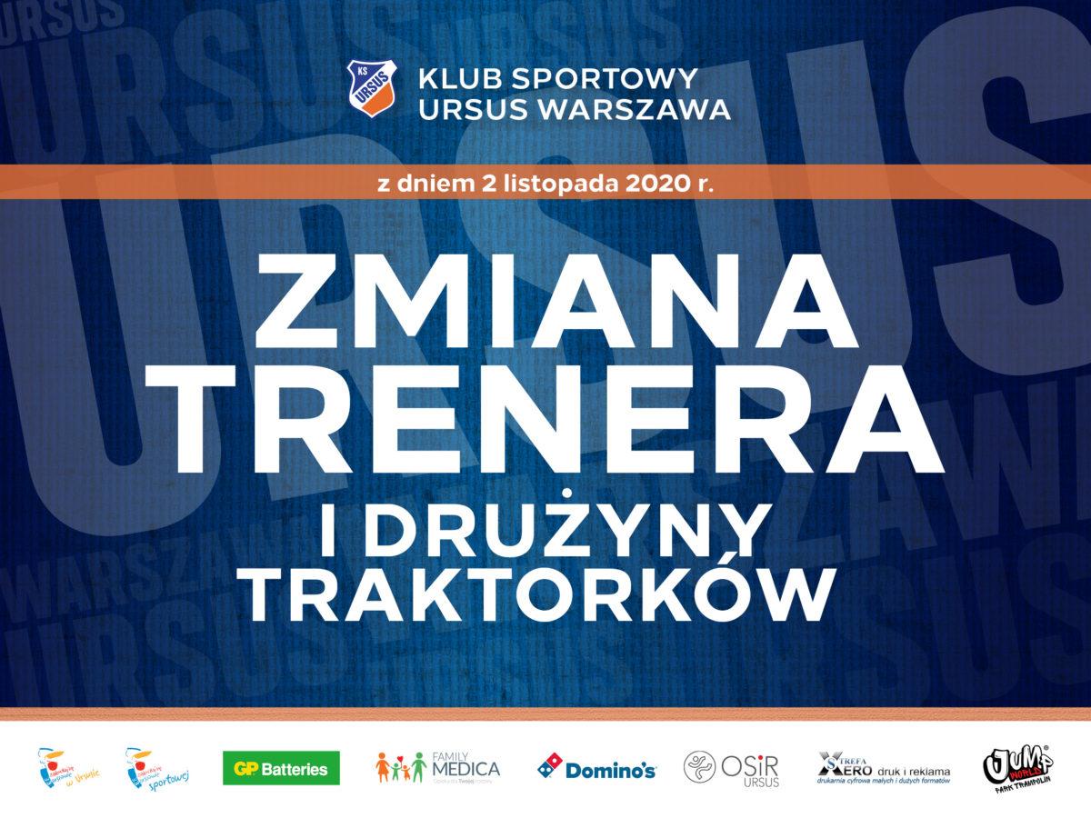 Zmiana trenera KS Ursus Warszawa