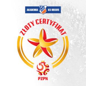Złoty certyfikat PZPN