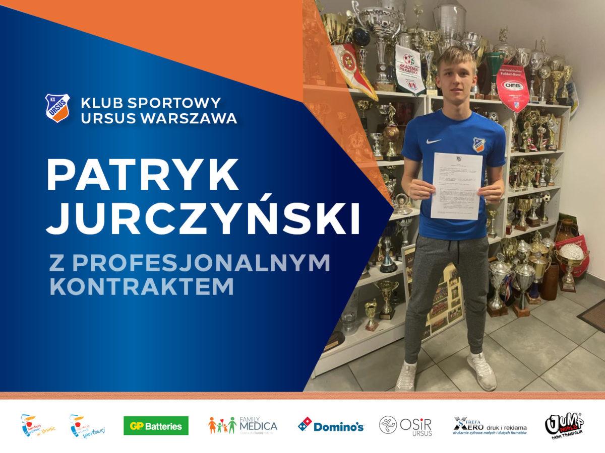 Patryk Jurczynski z kontraktem