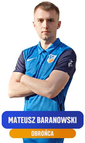 Mateusz Baranowski obronca KS Ursus Warszawa