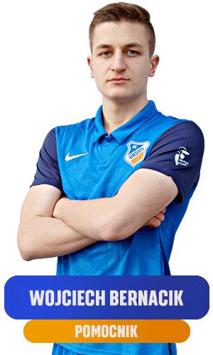 Wojciech Bernacik pomocnik KS Ursus Warszawa