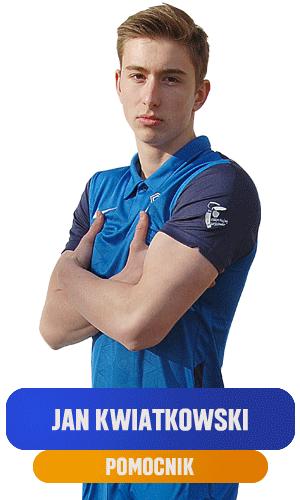 Jan Kwiatkowski pomocnik KS Ursus