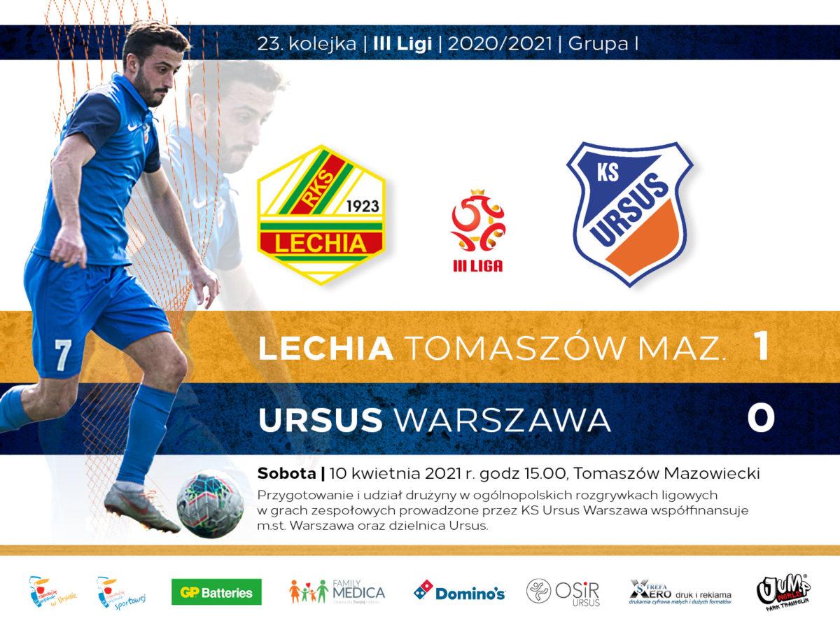 Lechia Tomaszów Mazowieckivs Ursus Warwszawa