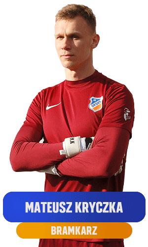 Mateusz Kryczka bramkarz KS Ursus