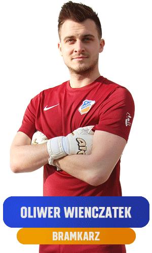 Oliwer Wienczatek bramkarz KS Ursus