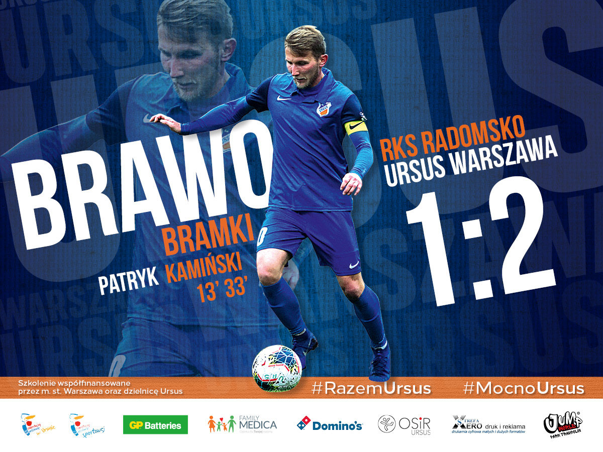 RKS Radomsko vs Ursus Warszawa