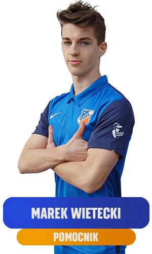 marek Wietecki pomocnik KS Ursus