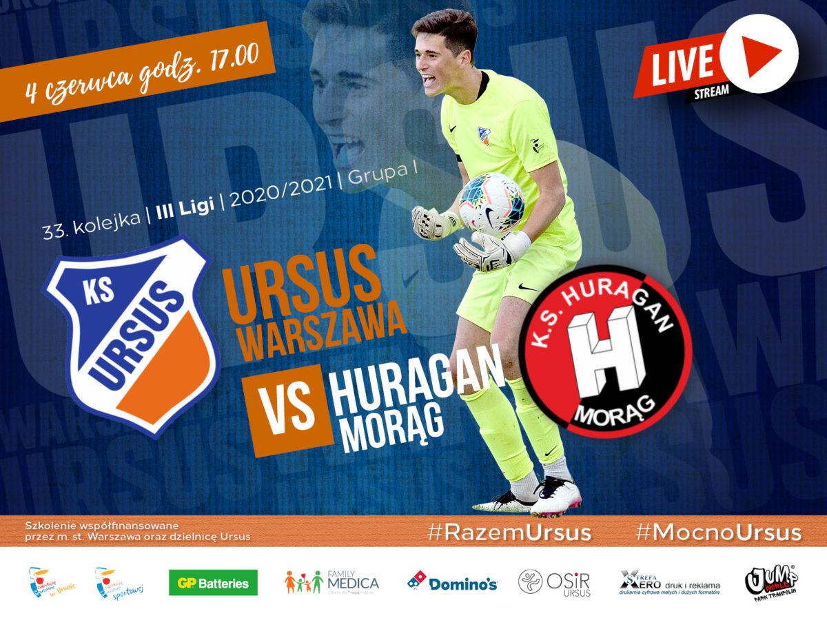 Ursus Warszawa vs Huragan Morąg Live