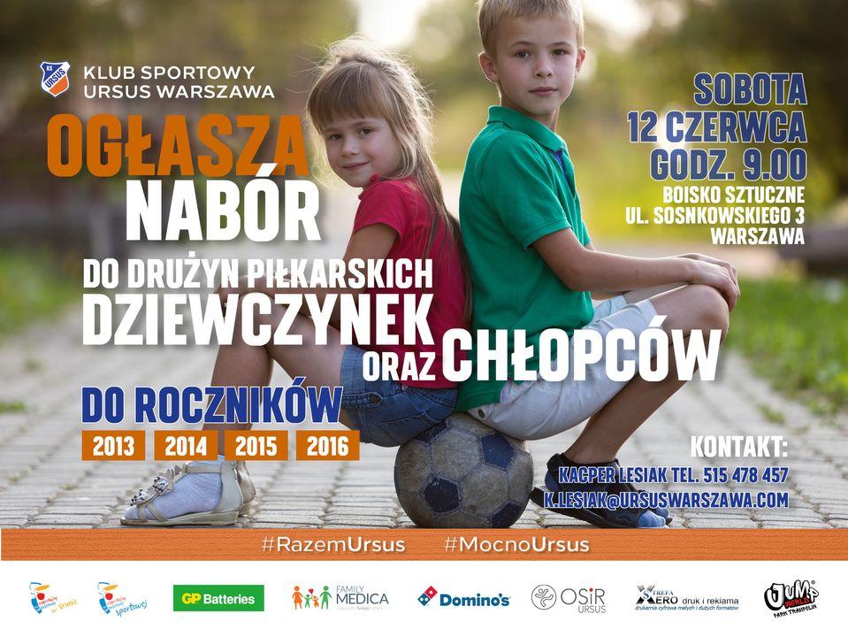 Nabór do Akademi KS Ursus Warszawa