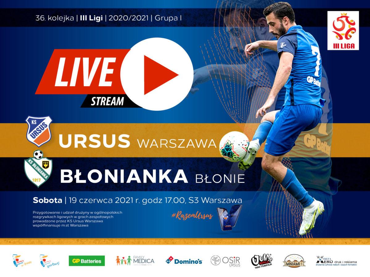 Ursus Warszawa vs Błonianka Błonie