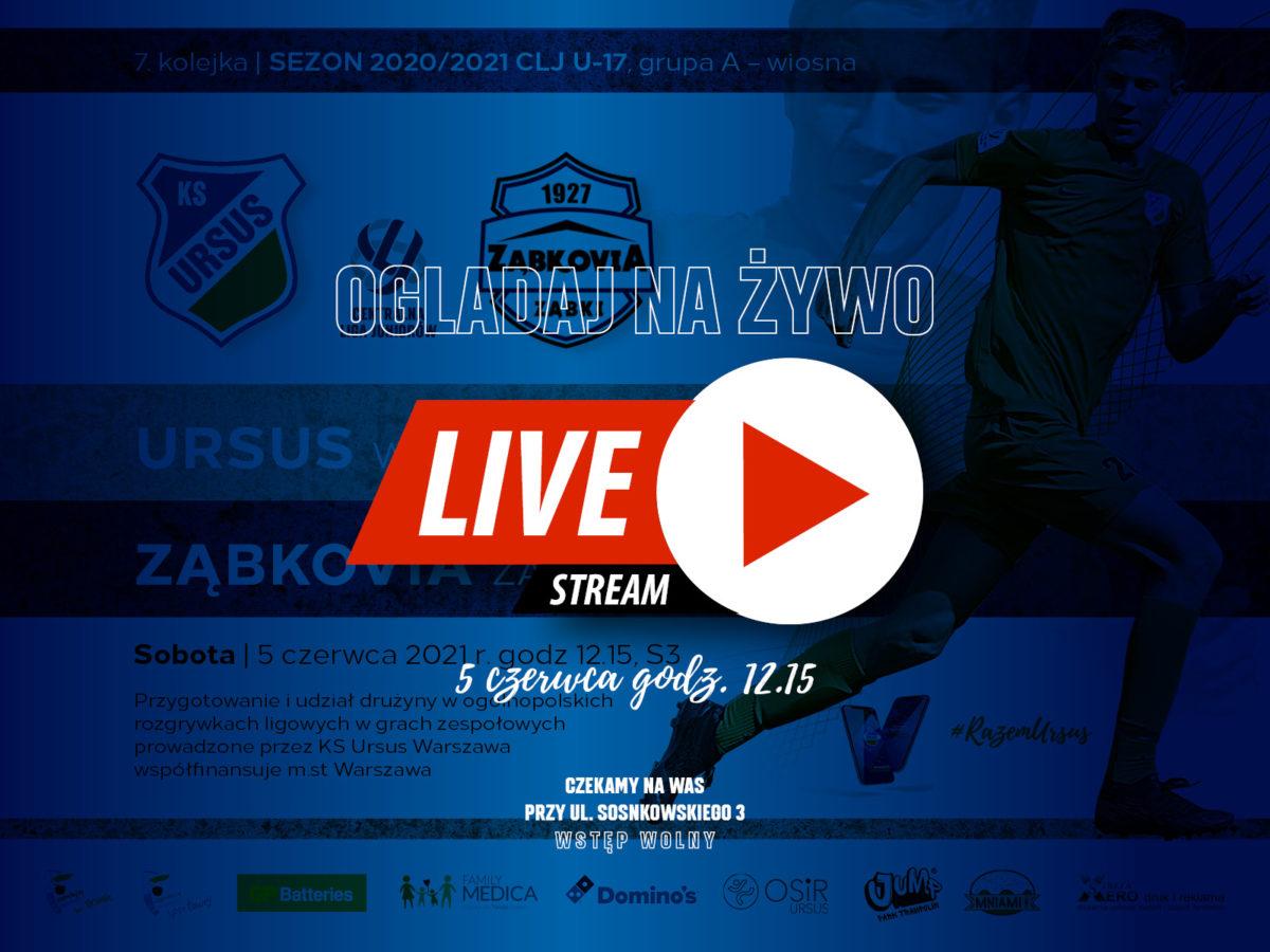 CLJ Ursus Warszawa vs Zabkovia Zabki LIVE