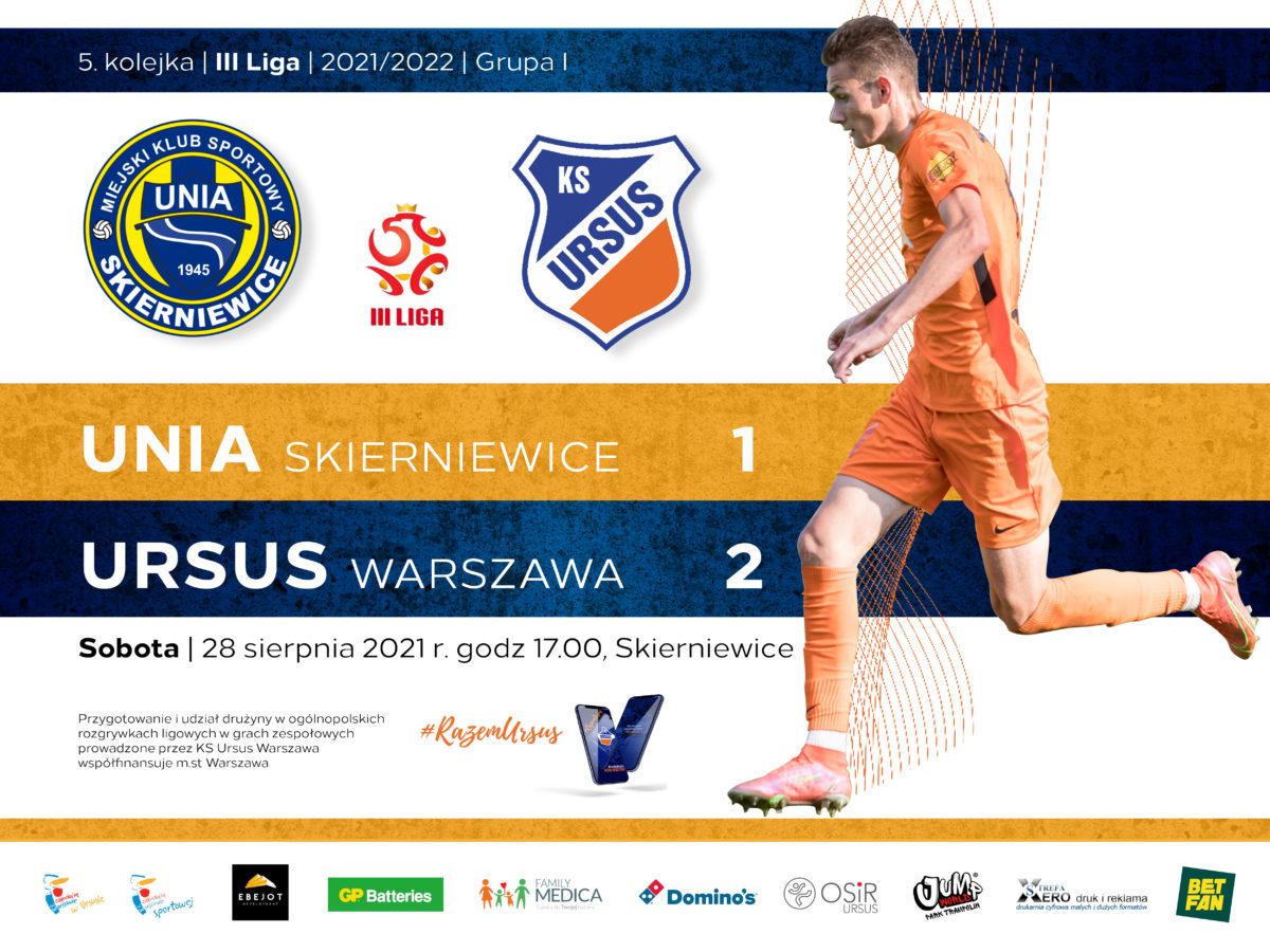 Unia vs Ursus Warszawa wynik