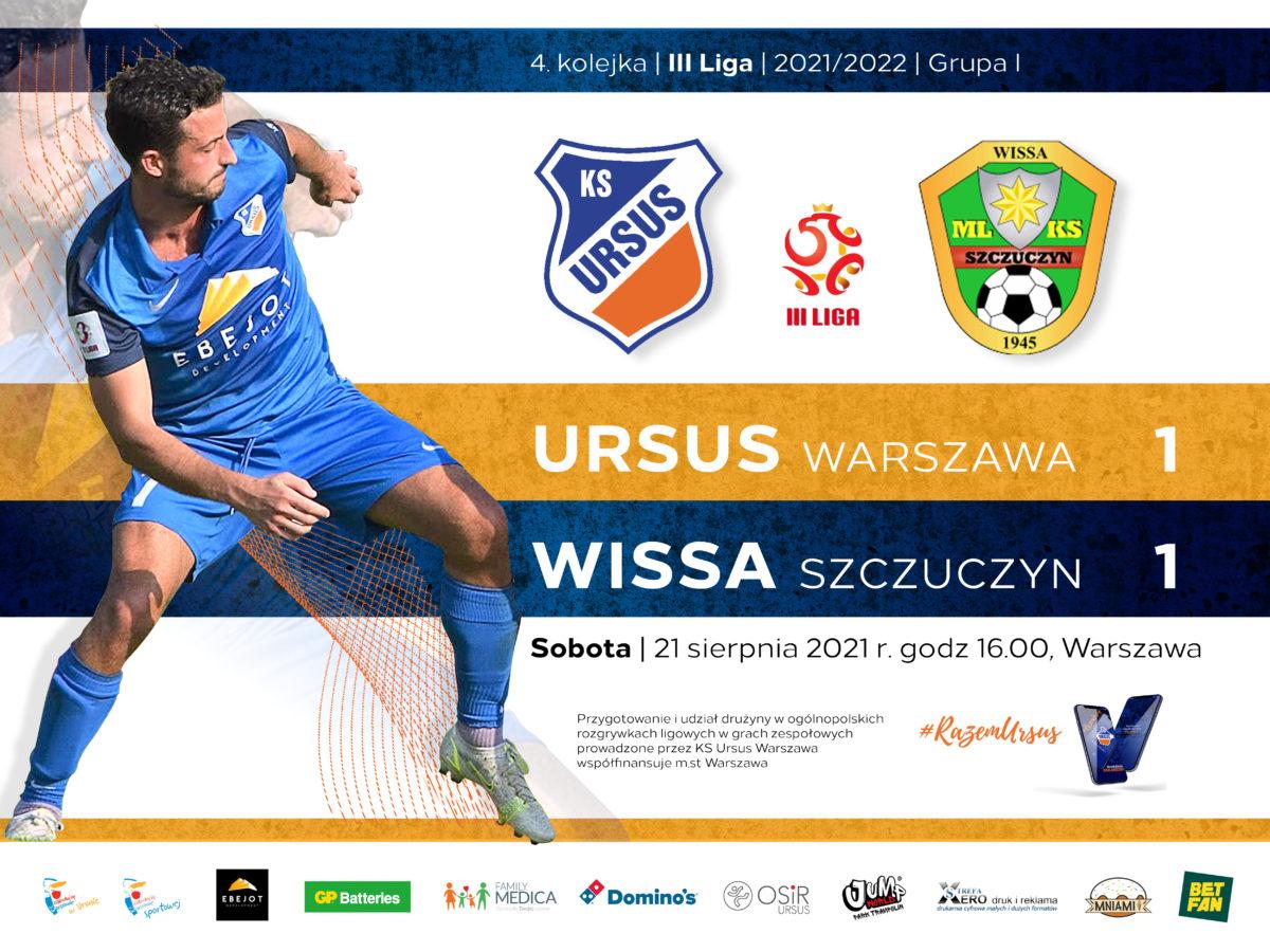 Ursus Warszawa vs Wissa Szczuczyn