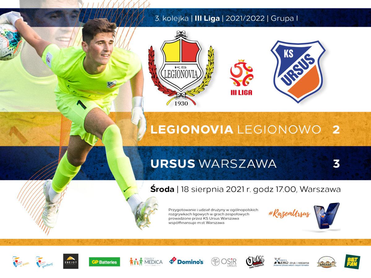 Legionovia vs KS Ursus Warszawa