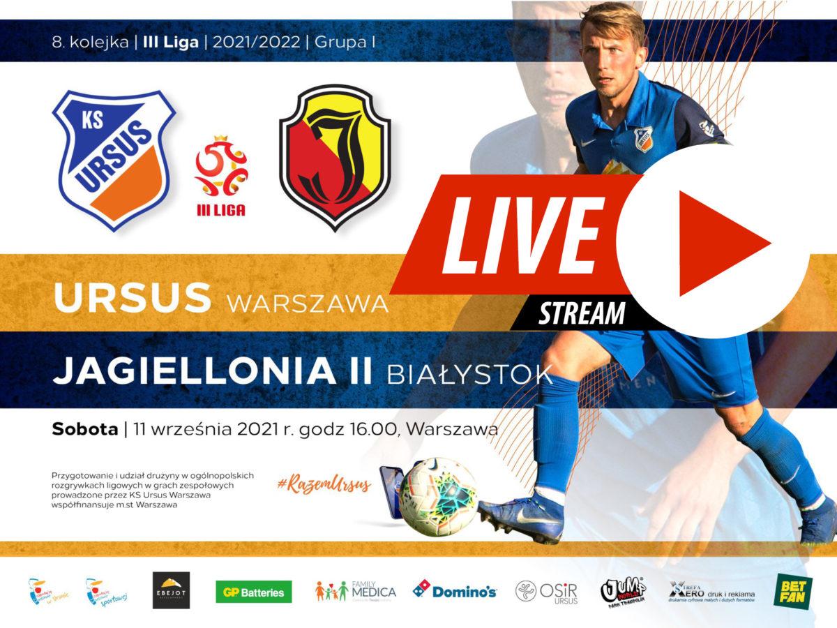 Ursus Warszawa vs Jagiellonia II Białystok Live
